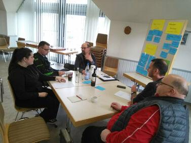 Eine Tagungsgruppe